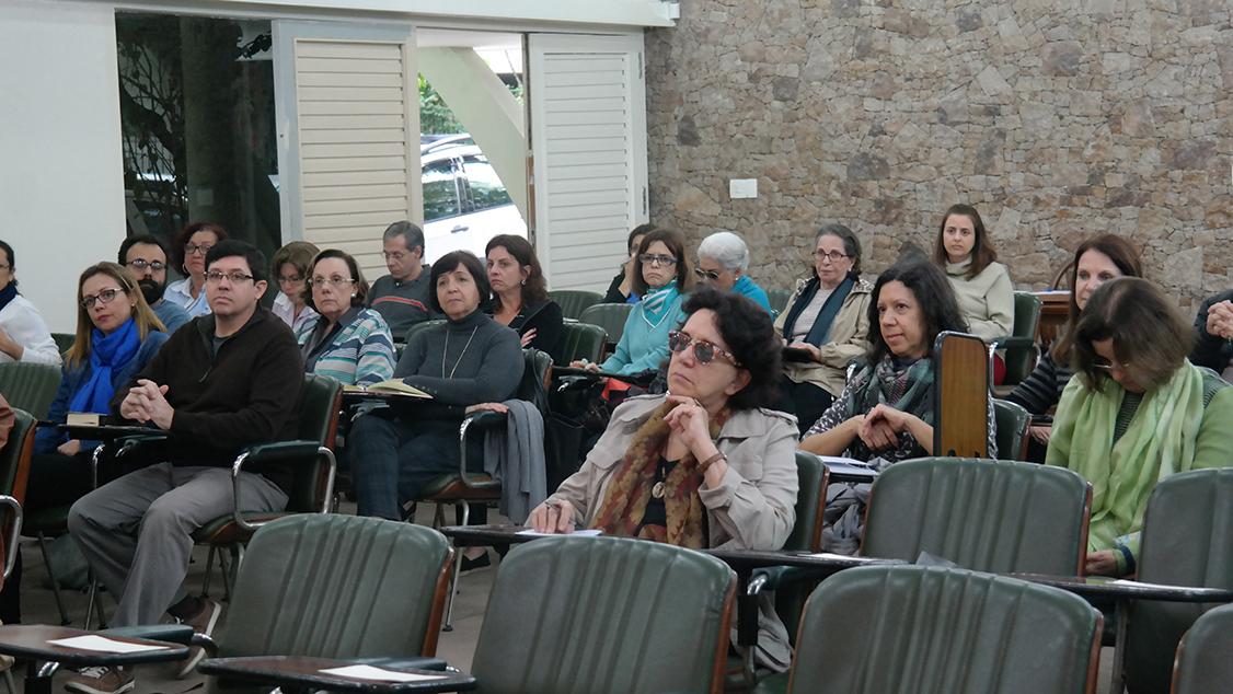 Participantes no Auditório