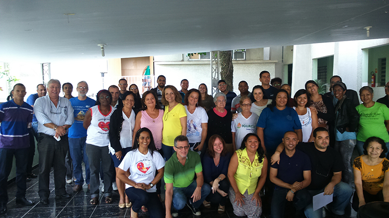 Participantes do segundo dia de curso (30/05/2015)