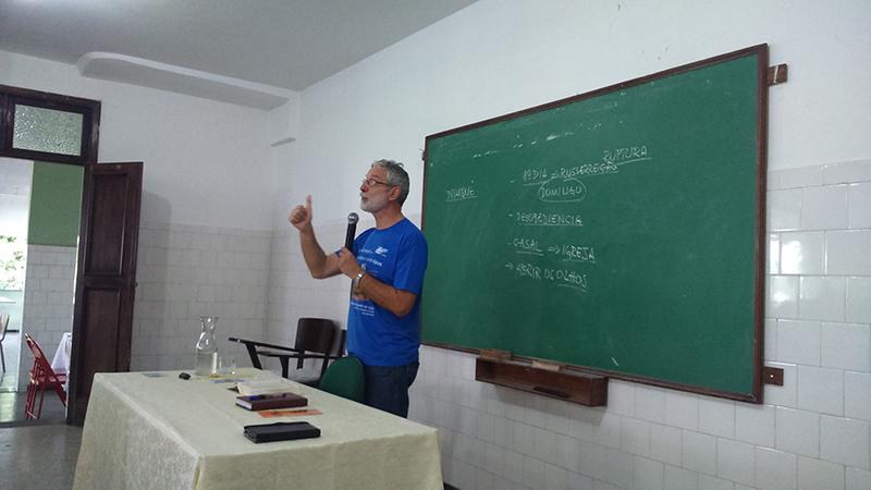 O Professor Francisco Orofino falou sobre a Pedagogia de Jesus no Caminho de Emaús