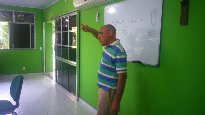 O professor William Batista falou sobre a Experiência Religiosa no Mundo Contemporâneo
