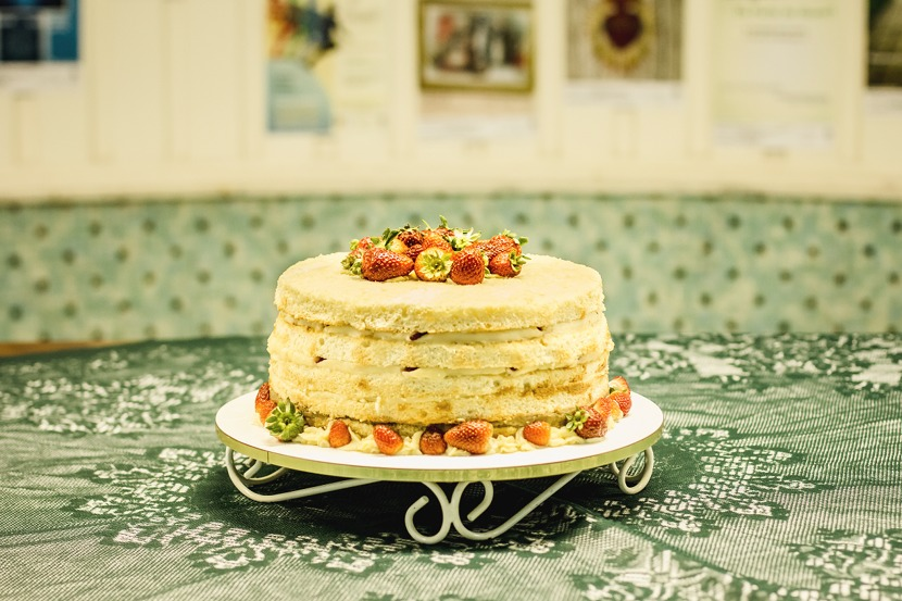bolo de aniversário do Centro Loyola