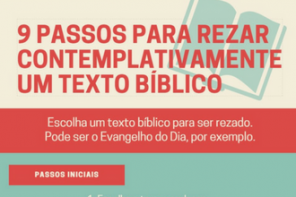9 Passos para Rezar Contemplativamente um Texto Bíblico